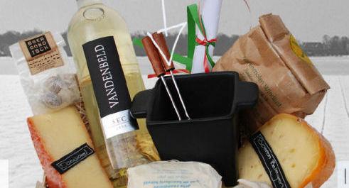 fondue-kerstpakket
